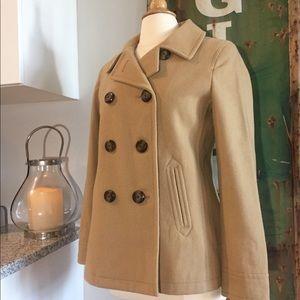 LIKE NEW❗️ Old Navy Khaki Colored Pea Coat